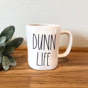 Rae Dunn DUNN LIFE mug